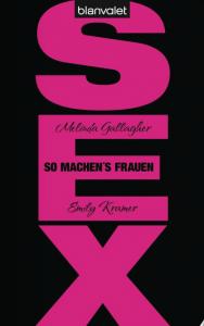 Schwarzer Buchtitel mit großen pinken Buchstaben SEX