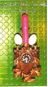 (Geschlechts)-Uhren umstellen, zum Kuckuck! - Die Künstlerin Rosalie hat eine eindeutige Bildsprache