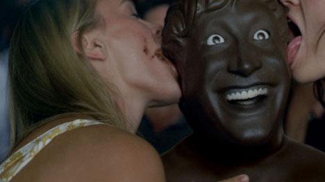 The Axe Chocolate Man