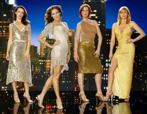 Die Hauptdarstellerinnen von Sex and the City