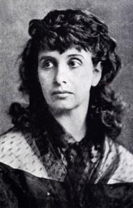 Hedwig Dohm, um 1870
