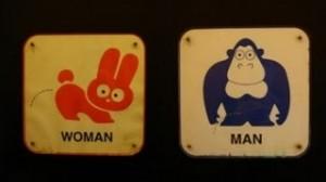 Toilettenschilder