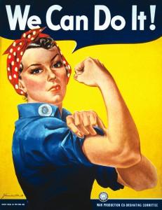 Geraldine Doyle, die dank eines Posters zu einer Symbolfigur des Feminismus in den USA wurde, ist verstorben.