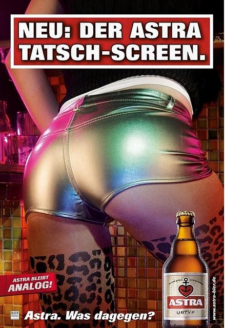 Der Astra Tatsch-Screen (Bild über Ninia LaGrande über horizont.net)