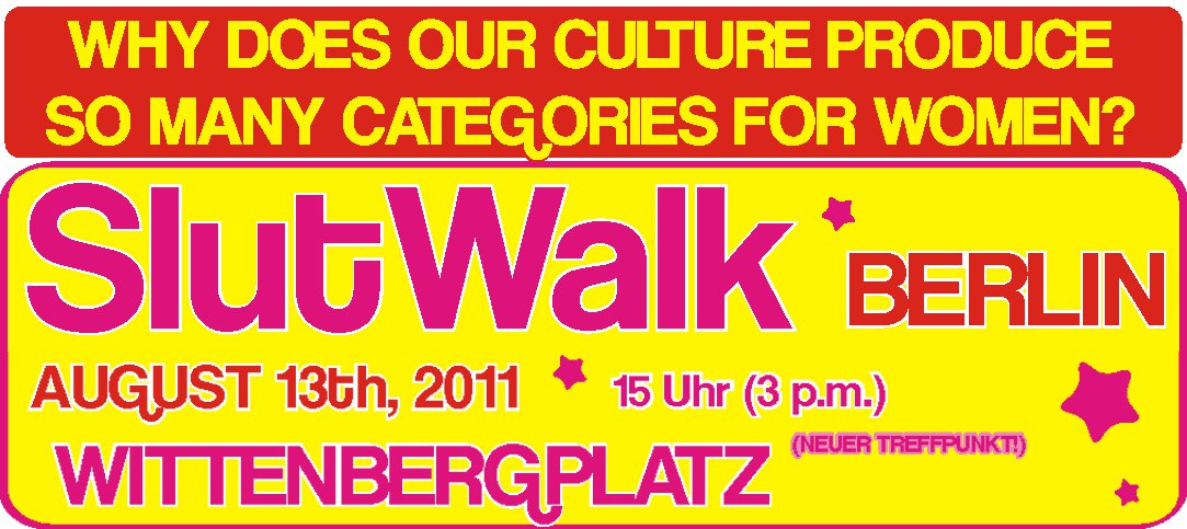 Slutwalk Berlin