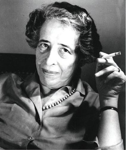 Hannah Arendt, 1963. Dieses Bild wurde zur Verfügung gestellt von Ryohei Noda.