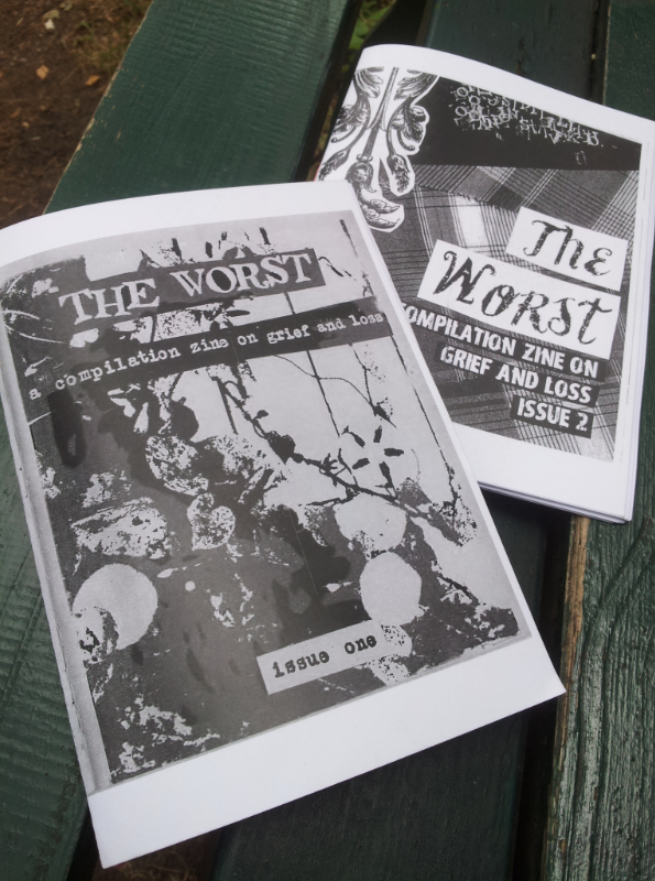 Kathleen McIntyre - The Worst A Compilation Zine on Grief and Loss - Part 1, 2, 3