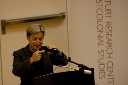 Judith Butler in Frankfurt, 2011.