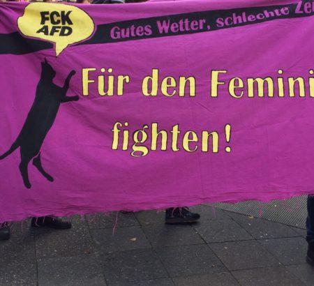 Gutes Wetter, schlechte Zeiten. Für den Feminismus fighten!