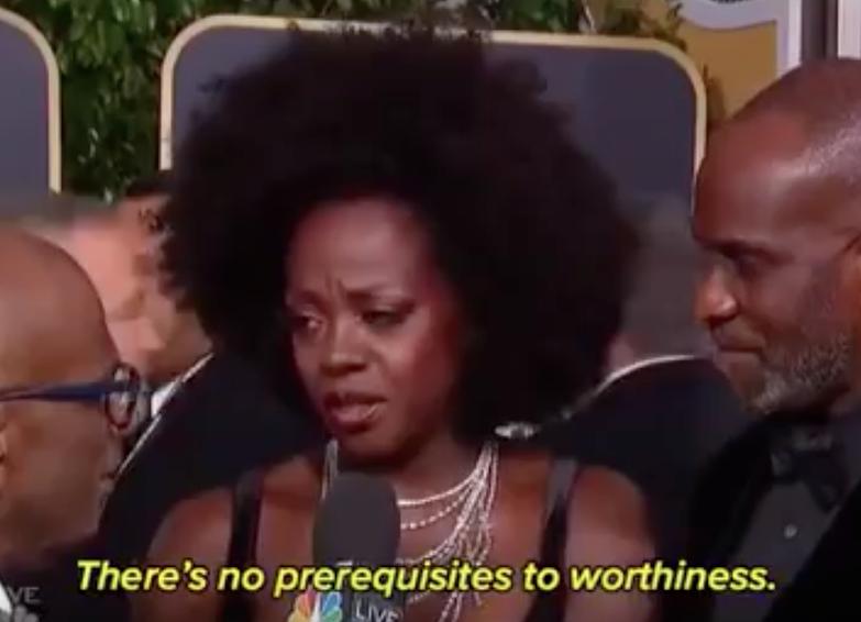 """Viola Davis bei den Golden Globes: """"Würde hat keine Vorbedingungen"""""""