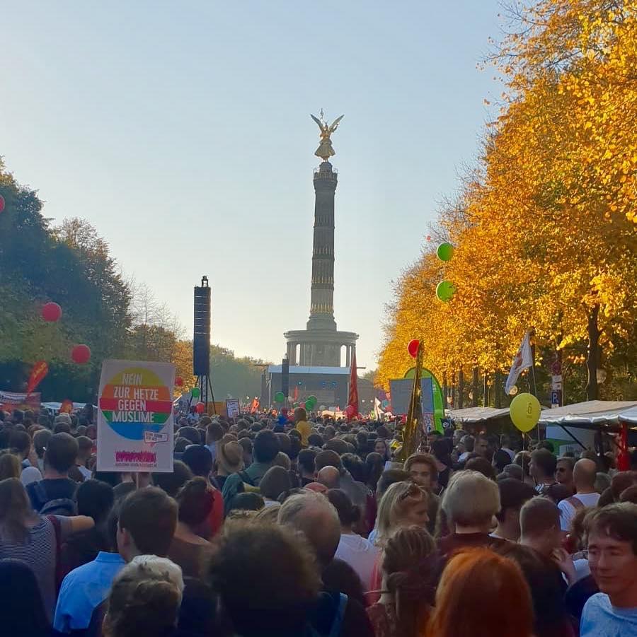 #unteilbar - Oktober 2018 in Berlin