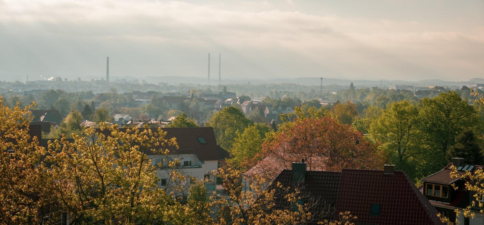 Blick auf Freiberg