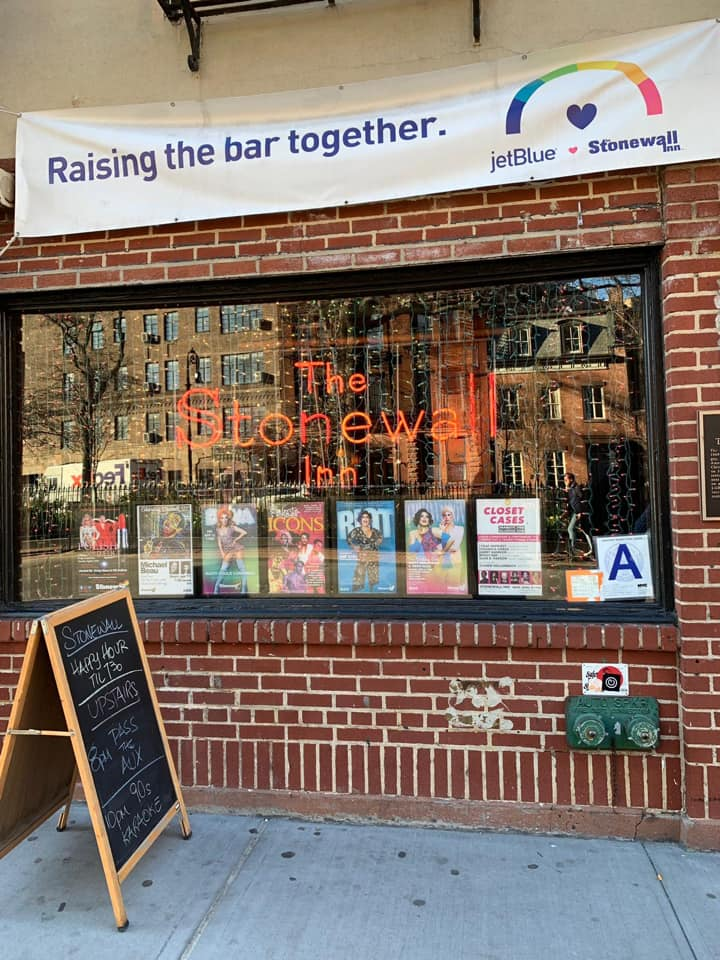 Stonewall Inn in der Christopher Street in Greenwich Village in New York City, USA