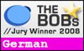 Jury Winner 2008 - The BOBs - Category: German